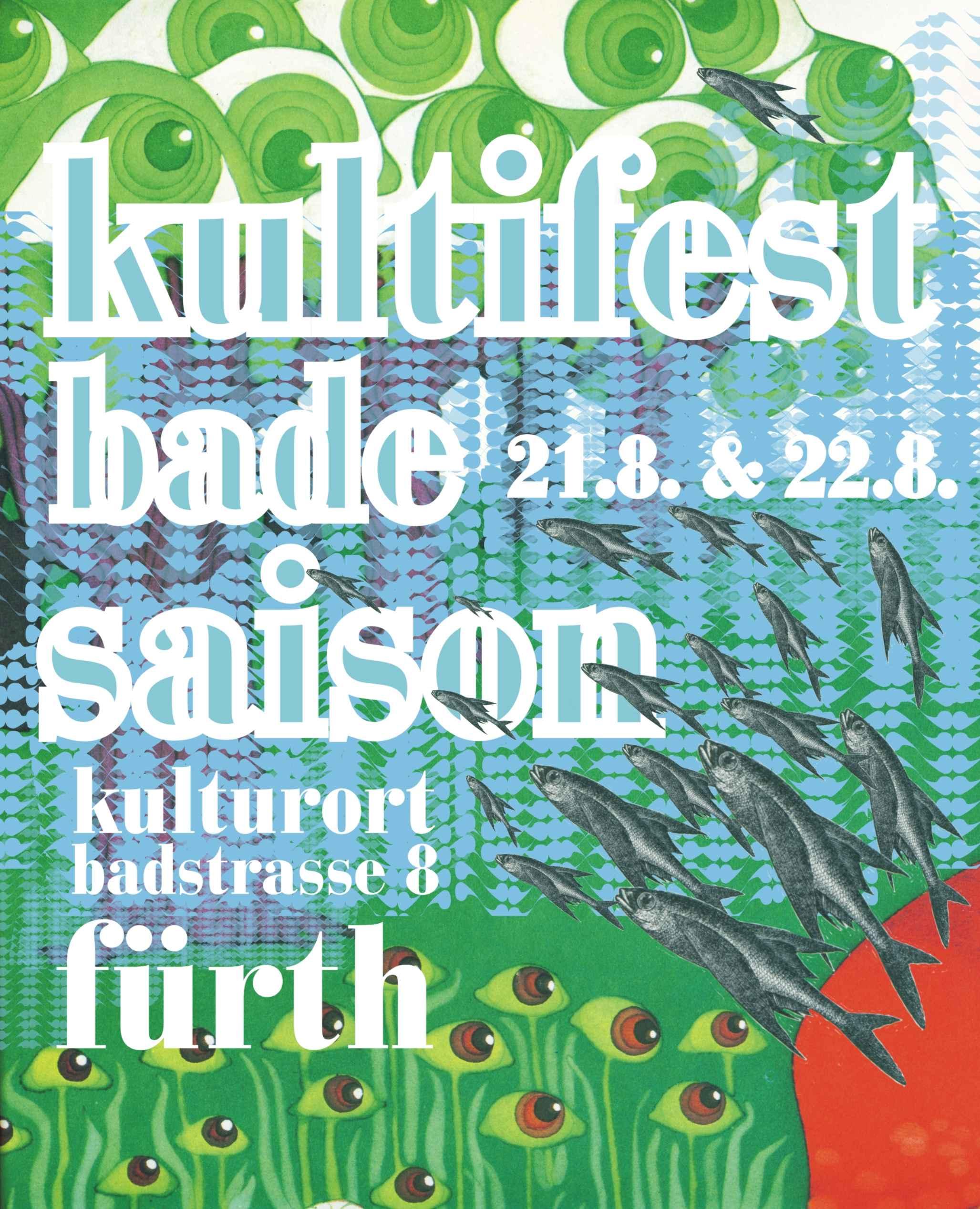 Flyer Badesaison Kultifest 2009 Vorderseite